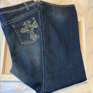 K Jordan Bootcut Jeans, 18